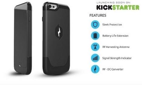 Nikola Labs : recharger son smartphone avec l'énergie de l'air ambiant | Technic-project | Scoop.it