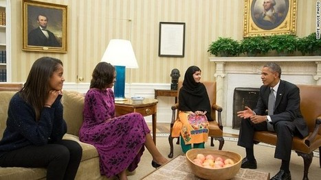 Malala confronts Obama | Geography Class Topics | Scoop.it