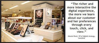 Lancôme Dives Deep Into Digital Retail | Digital Marketing | Scoop.it