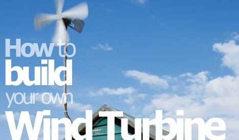 """Build your own Wind Turbine for around $200 
