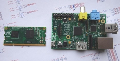 Raspberry Pi Compute Module shrinks to memory stick size - SlashGear | Raspberry Pi | Scoop.it