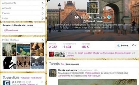 Clic France / Top 40 des musées et monuments français sur facebook et twitter (Novembre 2014) | Clic France | Scoop.it