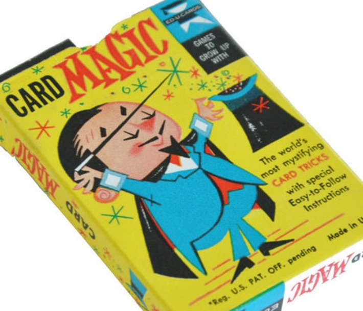 Vintage Magic Card Game by UptownThrift on Etsy | Kitsch | Scoop.it