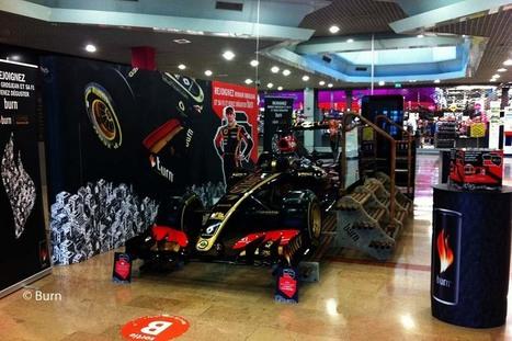 La tournée Burn F1 Show Car passe à Bordeaux | Bordeaux Gazette | Scoop.it