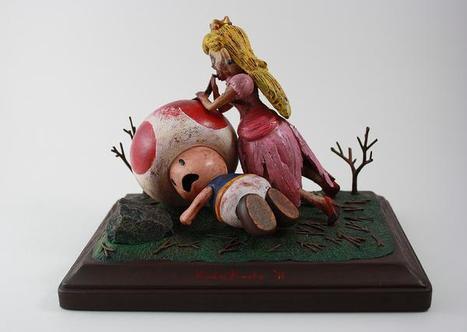 La figurine de princesse Peach en zombie! | Roi Boo News | Scoop.it