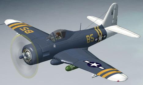 FS2002 FS2004 Ryan FR1 Fireball - Flight Simulator 2002 Flight Simulator 2004 Ryan FR1 Fireball | Fan d'aviation | Scoop.it