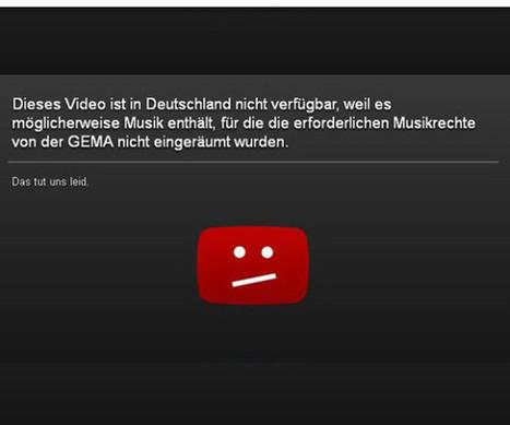 YouTube und Gema einigen sich: Ende der Sperrtafeln(internetworld.de)   Socialmedia Umschau   Scoop.it