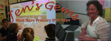 Jen's Gems Primary Apps | iPads in Kindergarten | Scoop.it