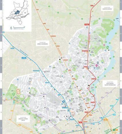 Une cartographie participative de quartier pendant la Nantes Digital Week | Carte interactive | Scoop.it