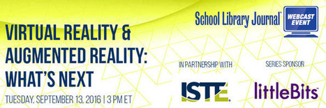 ISTE Webinar-  Add some VR and AR  to your school reality! | E-Learning and Online Teaching | Scoop.it