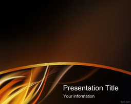 Fire Flame PowerPoint Template | Free Powerpoint Templates | Power Point | Scoop.it