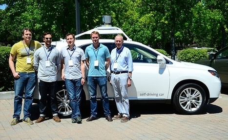 Google's Self-Driving Cars Have Never Gotten a Ticket | leapmind | Scoop.it