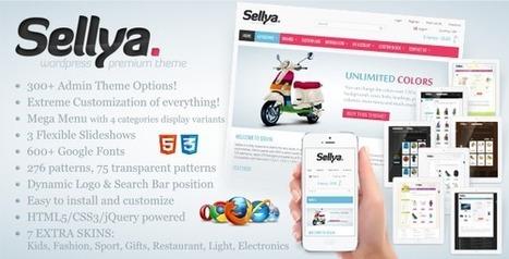 Sellya - Responsive WooCommerce Theme (WooCommerce) - Free Download | woocommerce | Scoop.it