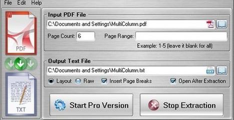 FM PDF Text Extractor Free, extrae el texto de los documentos PDF | Las TIC en el aula de ELE | Scoop.it