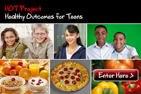 HOT Project: Healthy Outcomes for Teens | Nutrition, Food Safety and Food Preservation | Scoop.it