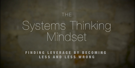 The Value of Systems Thinking | Self-organizing and Systems Mapping | Scoop.it