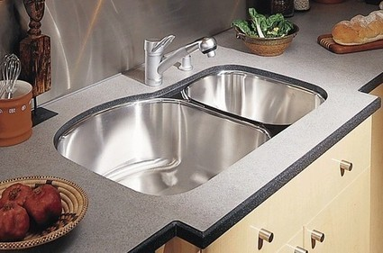 Undermount Sinks And Bronze Faucets Increase Kitchen Productivit | lena88gw | Scoop.it