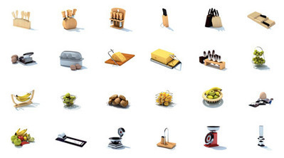 Pack modèles 3D cuisine | 3D Library | Scoop.it