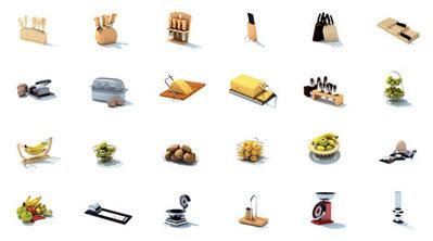 Pack modèles 3D cuisine | 3D Library | Scoop.it