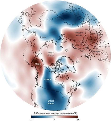 El vórtice polar trae frío allí  y allá, pero no a todas partes   Sustain Our Earth   Scoop.it
