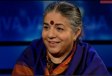 #439 The informed optimism of Dr. Vandana Shiva | This gives me hope | This Gives Me Hope | Scoop.it