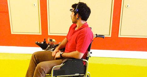 Des ingénieurs mettent au point une technologie permettant de piloter un fauteuil roulant à l'aide de la pensée | Technologies numériques et innovations | Scoop.it