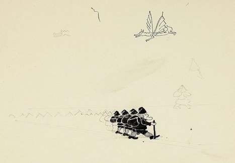J.R.R. Tolkien's Little-Known Original Drawings for the First Edition of The Hobbit | The Blog's Revue by OlivierSC | Scoop.it