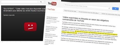Universal a les pleins pouvoirs de censure sur YouTube | Libertés Numériques | Scoop.it