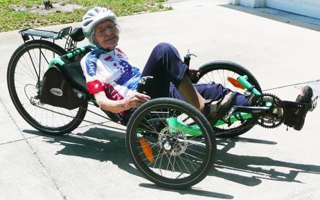 Phyllis Harmon: The grande dame of biking | Active Transportation Alliance | Bici reclinada - Recumbent bike - Vélo couché | Scoop.it