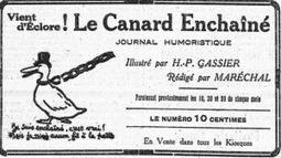 Le Canard enchaîné a 100 ans | Mon centenaire de la grande guerre | Scoop.it