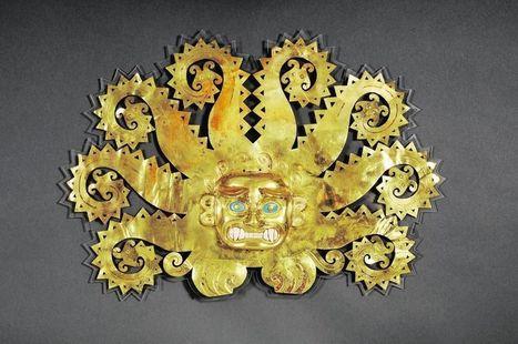 Exposition à Montréal d'objets de l'Empire inca datant de la dynastie des Moches   Les Incas du Pérou   Scoop.it