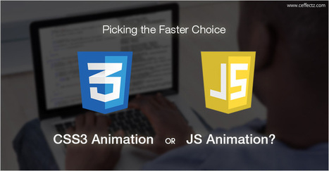 Picking the Faster Choice: CSS3 Animation or JS Animation? | Ceffectz offers creative web design and development services at an affordable price. Visit our website to request a quote today | Scoop.it