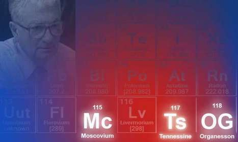 Names recommended for elements 115, 117 and 118   Amazing Science   Scoop.it