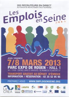 Les Emplois en Seine 2013 | Dans la CASE & Alentours | Scoop.it