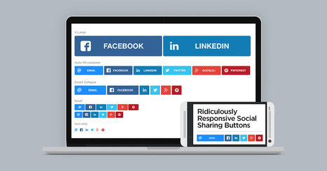 Ridiculously Responsive Social Sharing Buttons | Daily Magazine | Scoop.it