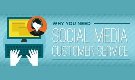 Why You Need Social Media Customer Service - Infographic Online | 911branding | Scoop.it