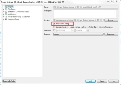 How to translate scanned PDF documents in SDL Trados Studio 2015 | SDL TranslationZone Blog | Translation Memory | Scoop.it