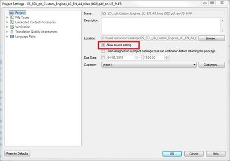 How to translate scanned PDF documents in SDL Trados Studio 2015 | SDL TranslationZone Blog | translation | Scoop.it