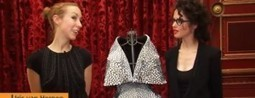 3D Printed Dress - The Video and Interview, at Paris Fashion Week | FabLab today | Scoop.it