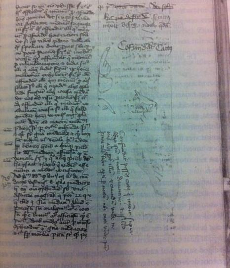 Medieval Cats Behaving Badly: Kitties That Left Paw Prints … and Peed … on 15th Century Manuscripts | Middle ages | Scoop.it
