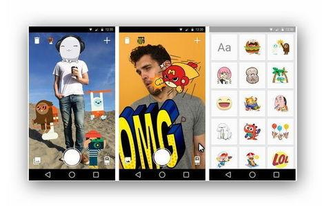 فيسبوك يصدر تطبيق Stickered لإضافت الوجوه التعبيرية على الصور | SEO, Marketing, Social Media, News | Scoop.it