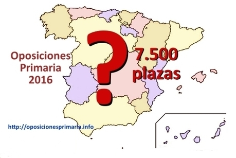 Oposiciones Primaria 2016 | Oposiciones Educación | Scoop.it