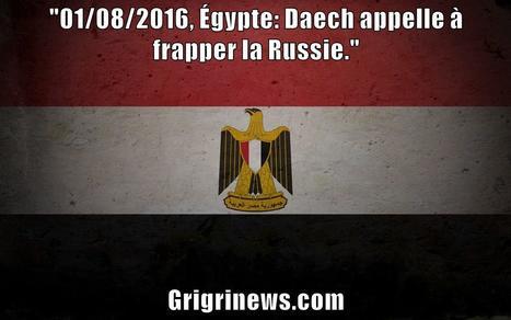 Égypte: Daech appelle à frapper la Russie | Actualités Afrique | Scoop.it