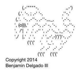 ASCII TEXT ART #3 | ASCII Art | Scoop.it