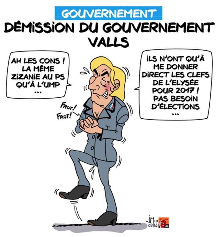 Démission du gouvernement Valls | Baie d'humour | Scoop.it