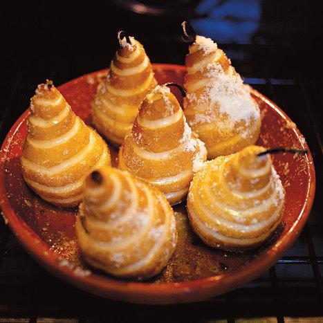 Roasted Sugar-Glazed Pears Recipe - Saveur.com   On the Plate   Scoop.it