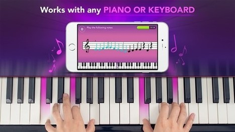 Simply Piano. Une méthode amusante pour apprendre le piano | Les outils du Web 2.0 | Scoop.it