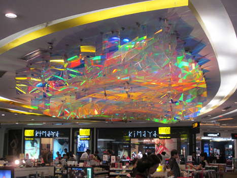 architect Rajat Sodhi: Lehar – Art Installation at Delhi Airport | Art Installations, Sculpture, Contemporary Art | Scoop.it