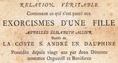 Orgueil et Bonifarce: exorcismes à Grenoble en 1649 ~ Généalogie & histoires en Dauphiné | GenealoNet | Scoop.it