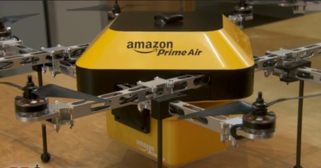 Amazon Drone Delivery: Why It's Not Crazy | Real Estate News | Scoop.it